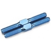 "1.0"" (25.5mm) Factory Team Blue Titanium Turnbuckles (2)"