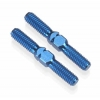 ".825"" Factory Team Blue Titanium Turnbuckles for V2 Rear Suspension (2)"