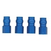 Factory Team Blue Aluminum Shock Bushing (4)
