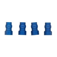 Factory Team Blue Aluminum Shock Bushings (Short) (4) Featured Photo