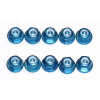 FT 3mm (M3) Locknut, blue aluminum (10) Featured Photo