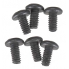 M2 x 0.4mm x 4mm Button Head Cap Screws (6)