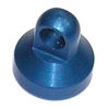 Factory Team Blue Anodized Aluminum Shock End Cap