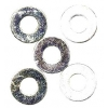 #4 Steel Washers (4)