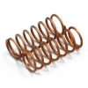 Factory Team Copper Extra-Extra-Hard Micro Shock Spring (16.0 lb.) (2)