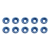 Blue Countersunk Washer (10)