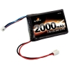 7.4V 2S 2000mAh 20C LiPo Battery with Mini Connector for Losi Mini-T Family