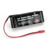 6V 1400mAh NiMH Receiver Flat Pack with BEC Photo #1