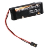 6V 1600mAh NiMH Receiver Pack, 5C Flat Photo #1
