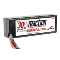 Reaction 11.1V 3S 5000mAh 30C Hard Case LiPo Battery with Traxxas Connector Featured Photo