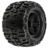 "Trencher X 3.8"" All-Terrain Truck Tires Mounted on Black Desperado 1/2"" Offset 17mm Hex Wheels (2)"