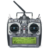 Aurora 9X 2.4GHz Transmitter (with Maxima 6 Receiver and NiMH Battery/Charger) Featured Photo