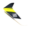 Vertical Fin with Decal: 120SR