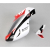 Complete White Canopy w/ Vertical Fin: MSRX