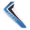 Blue Vertical Fin w/decal: nCP X