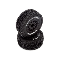 PreMounted Tire Set (2), Black: Torment Featured Photo