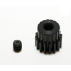 48 Pitch 16 Tooth (16T) Black Aluminum Pro Pinion