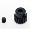 48 Pitch 17 Tooth (17T) Black Aluminum Pro Pinion