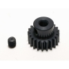 48 Pitch 21 Tooth (21T) Black Aluminum Pro Pinion