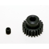 48 Pitch 22 Tooth (22T) Black Aluminum Pro Pinion