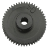 64 Pitch 50 Tooth (50T) Black Aluminum Pro Pinion Gear