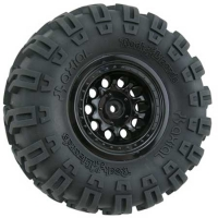 Revolver Crawler Wheels, Wide Base, Black (2) Featured Photo