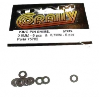 Steel King Pin Shims (0.5mm and 0.1mm) (6 each) Featured Photo