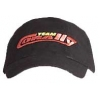 CORALLY CAP, Black with embroidery