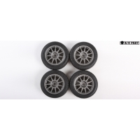 RC Pre-Mounted Radial Tires - 60D Super Grip (4pcs) Featured Photo