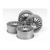 RC Med Narrow 18 Spoke Wheels  - Offset +0