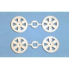 RC Med Narrow 12-Spoke Wheels  - 24mm Width/Offset +2
