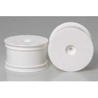 RC DB01 Dish Wheels - Rear/White Featured Photo