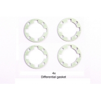RC TA06 Gear Diff Unit Gasket  - 2pcs Featured Photo