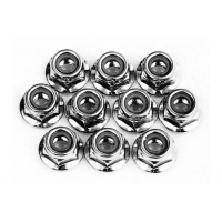 4mm Aluminum Flanged Lock Nut Featured Photo