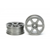 RC Med Narrow Six Spoke Wheels  - 2pcs