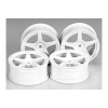 RC M-Narrow White 5 Sp Wheels