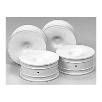 RC Med.Narrow Dish Wheels  - White (Offset +2) Featured Photo