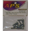 "Stainless Steel Socket Hex Screws, 4-40 x 7/16"" (10)"