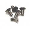 4-40 x 1/4 Pan Head Screws (Steel) (5)