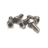 4-40 x 1/4 Cap Head Screws (Steel) (5)