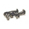 4-40 x 1/4 Button Head Screws (Steel) (5)