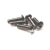 4-40 x 3/8 Button Head Screws (Steel)