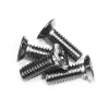 8-32 x 1/2 Aluminum Pan Head Screws (Steel) (5)