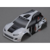 1/24 4WD Rally Painted Body, Gray