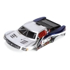 1/24 4WD SCT Painted Body, Silver/Blue Photo #1