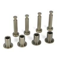 Front King Pins & Arm Bushings, Alum. 5IVE-T Featured Photo