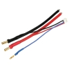 4mm Bullet LiPo Balance Adapter Harness: JST-XH