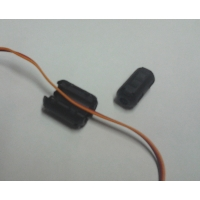 Ferrite Ring, Clip/clamp style, plastic jacket Featured Photo