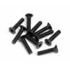 Flt Head Screw M2.5X12mm(10): FS,Blitz