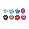 M3 Aluminum Nylon Nut (Purple) (8)